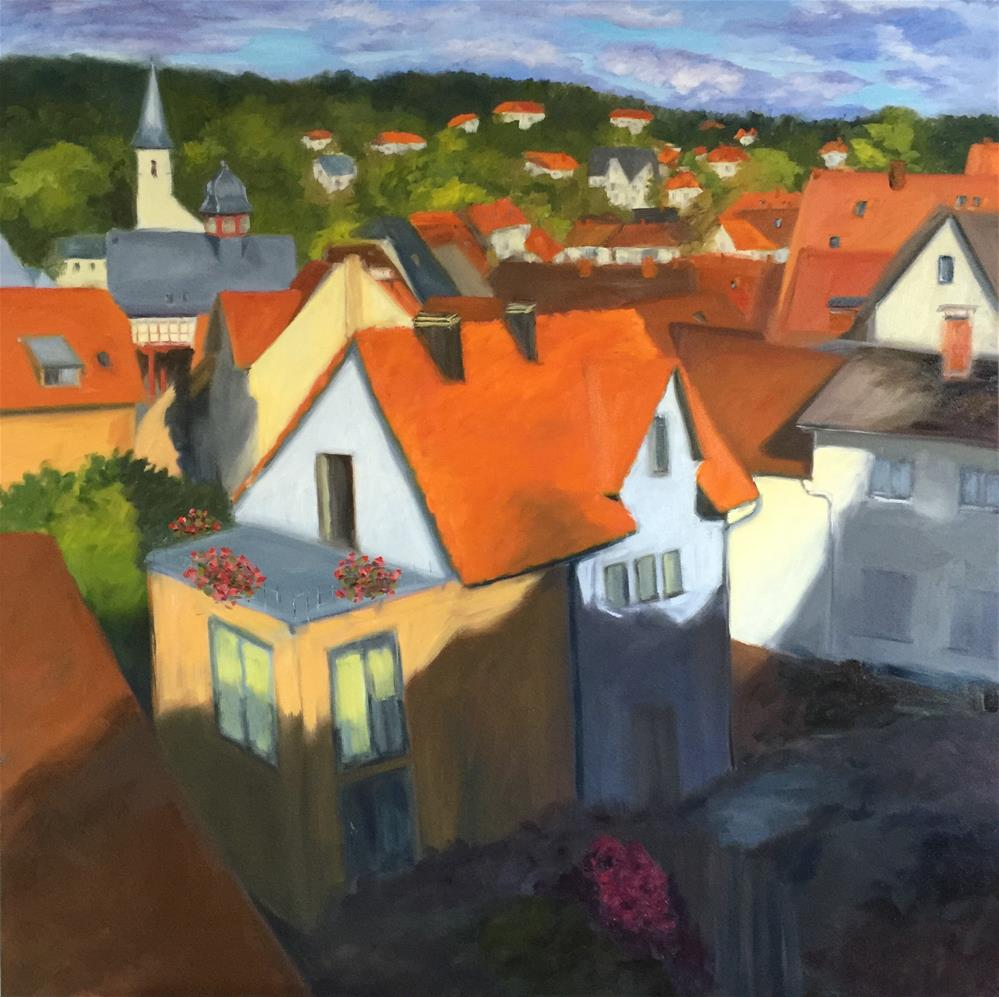 """Königstein im Taunus, Germany"" original fine art by Karen D'angeac Mihm"