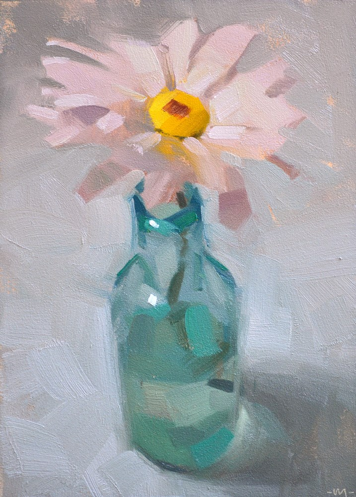 """Flower Power"" original fine art by Carol Marine"