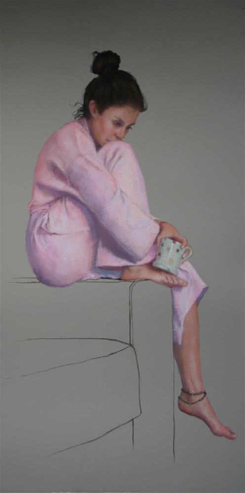"""Neeley"" original fine art by Liz Balkwill"