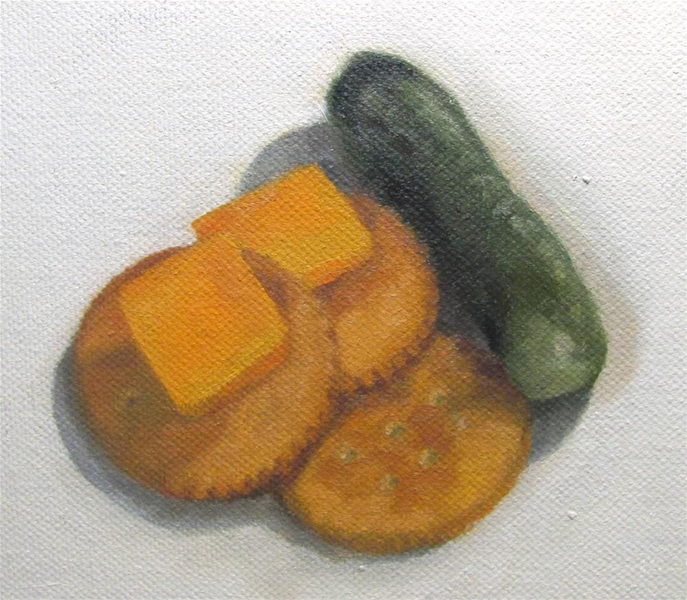 """Snack"" original fine art by Cheryl Meehan"