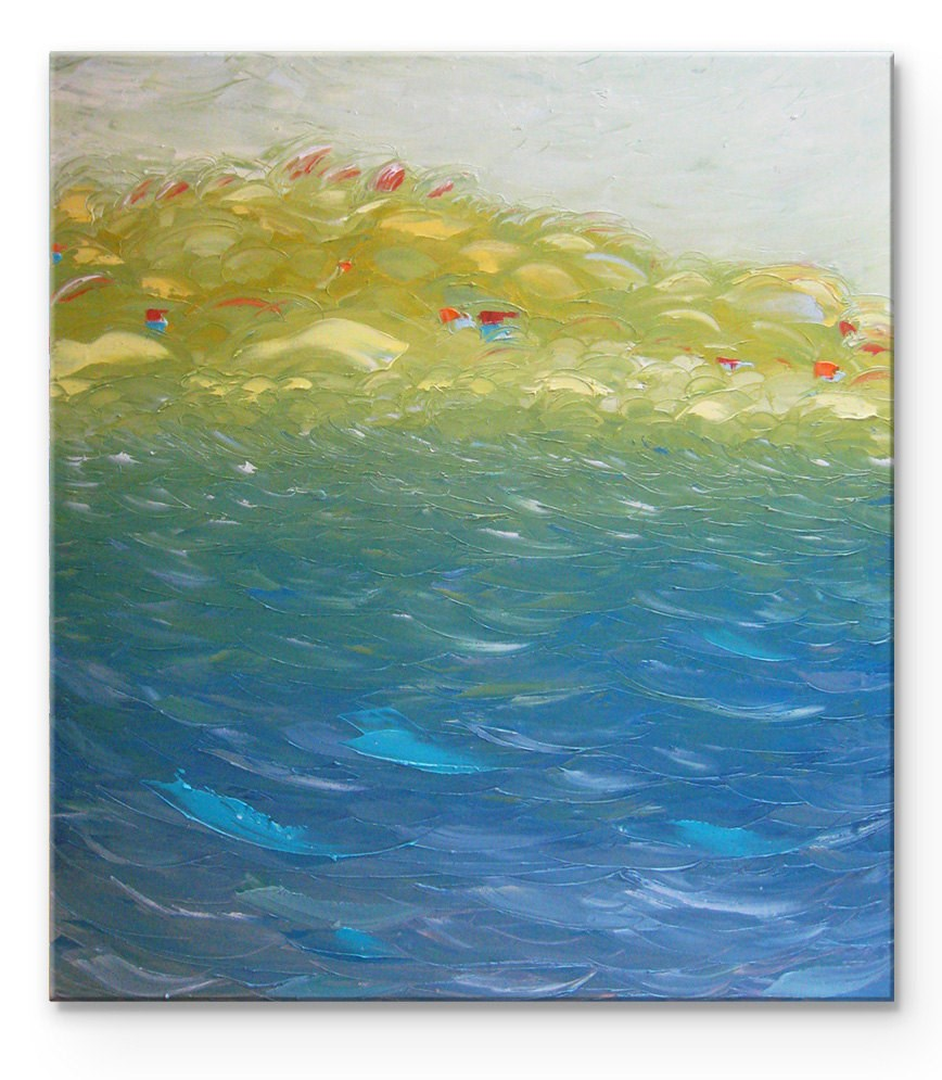 """Morning breeze"" original fine art by Elena Lunetskaya"