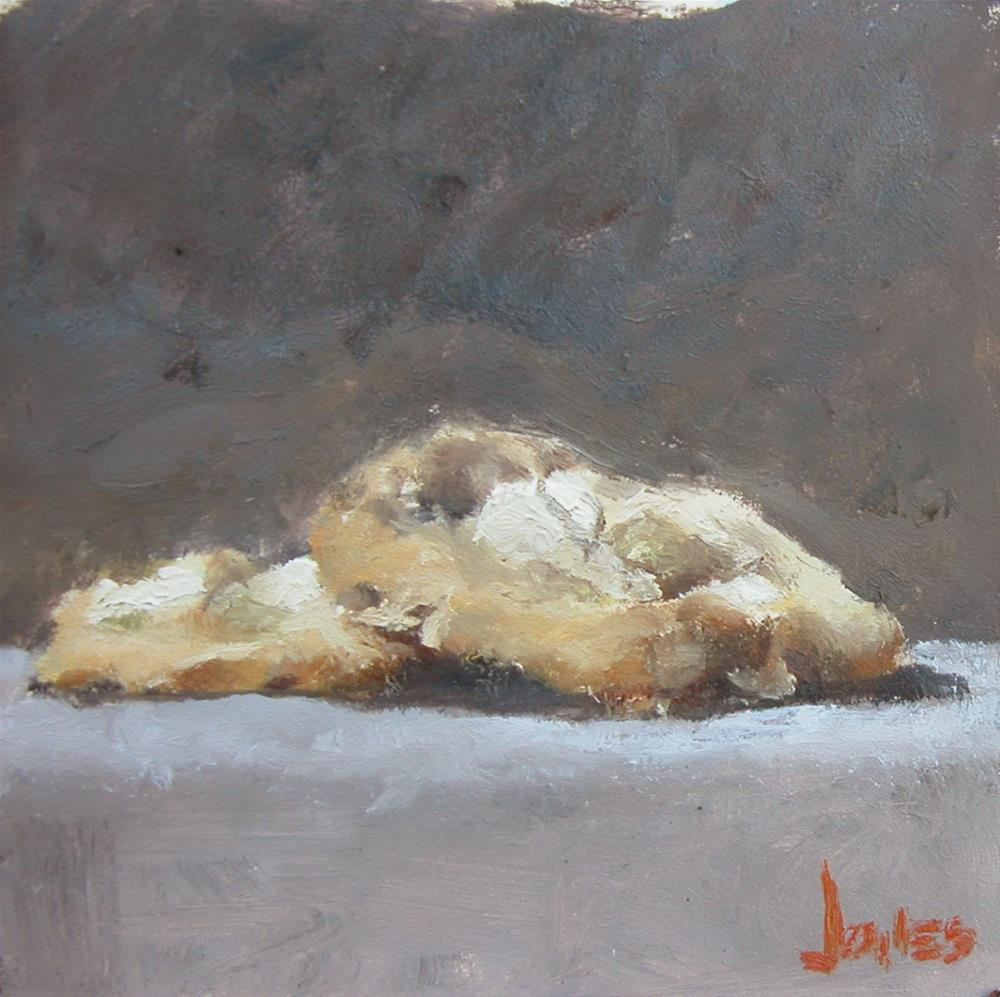"""Macadamia Cookies"" original fine art by Richard Jones"