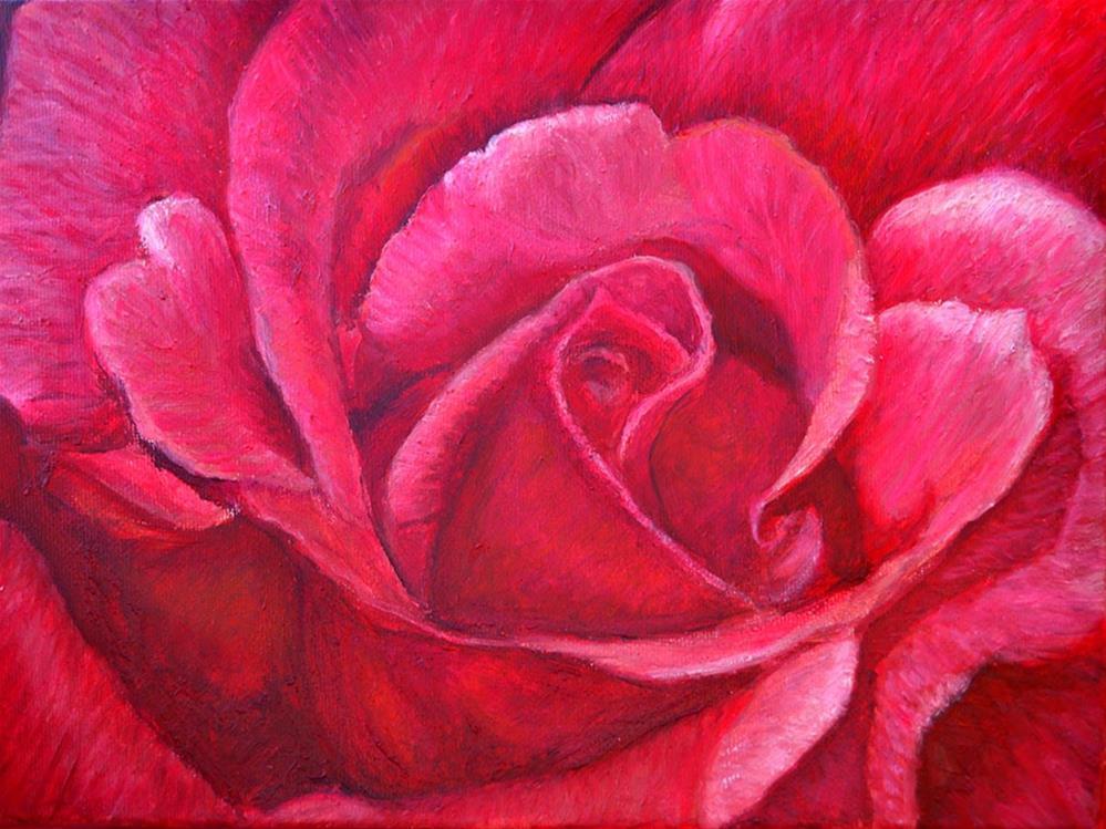 """Passion"" original fine art by Carol Sakai"