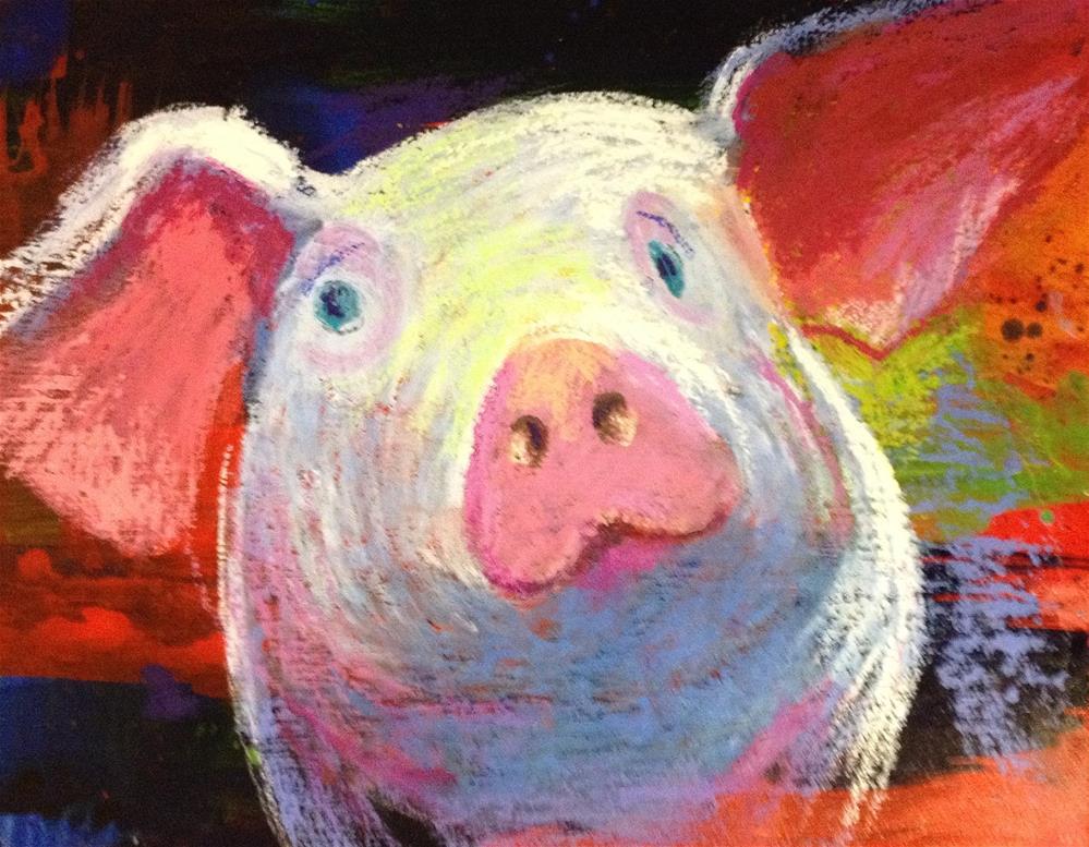 """Sweet Pig O Mine"" original fine art by Jeff Leedy"