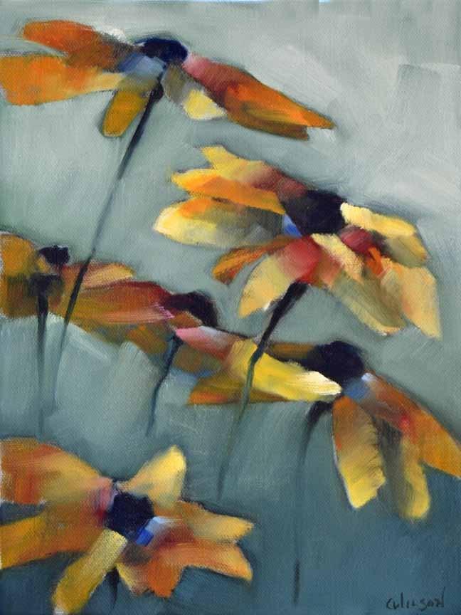 """""""Susans Bunch 2"""" original fine art by Cheryl Wilson"""