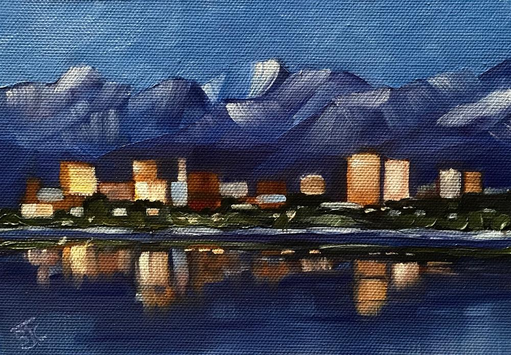 """Anchorage"" original fine art by Bobbie Cook"