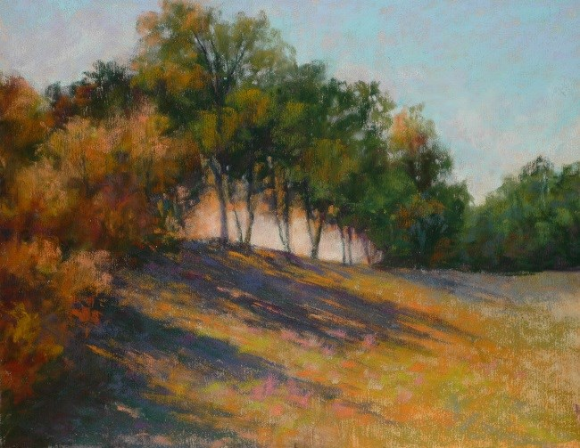 """Evening Shadows"" original fine art by Susan Klabak"