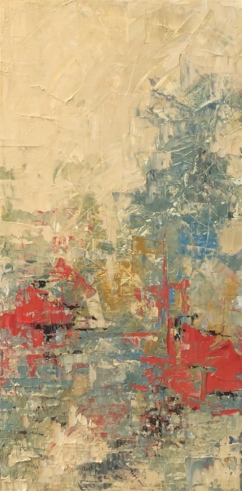 """Bee-Loud Glade"" original fine art by Denise Hopkins"