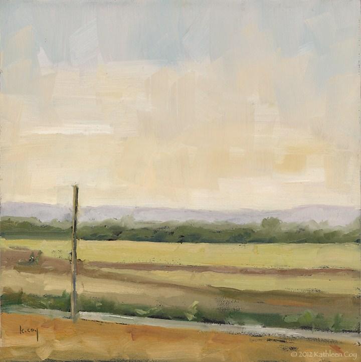 """""""Late September"""" original fine art by Kathleen Coy"""