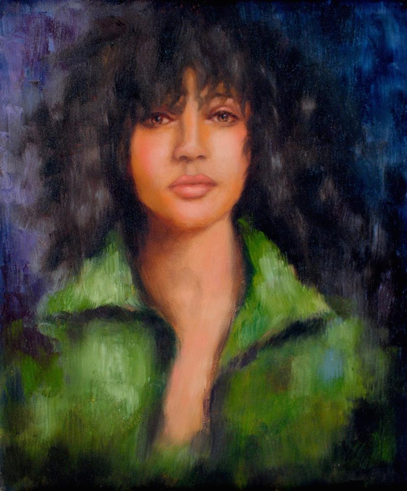"""Glow"" original fine art by Kelly Berkey"