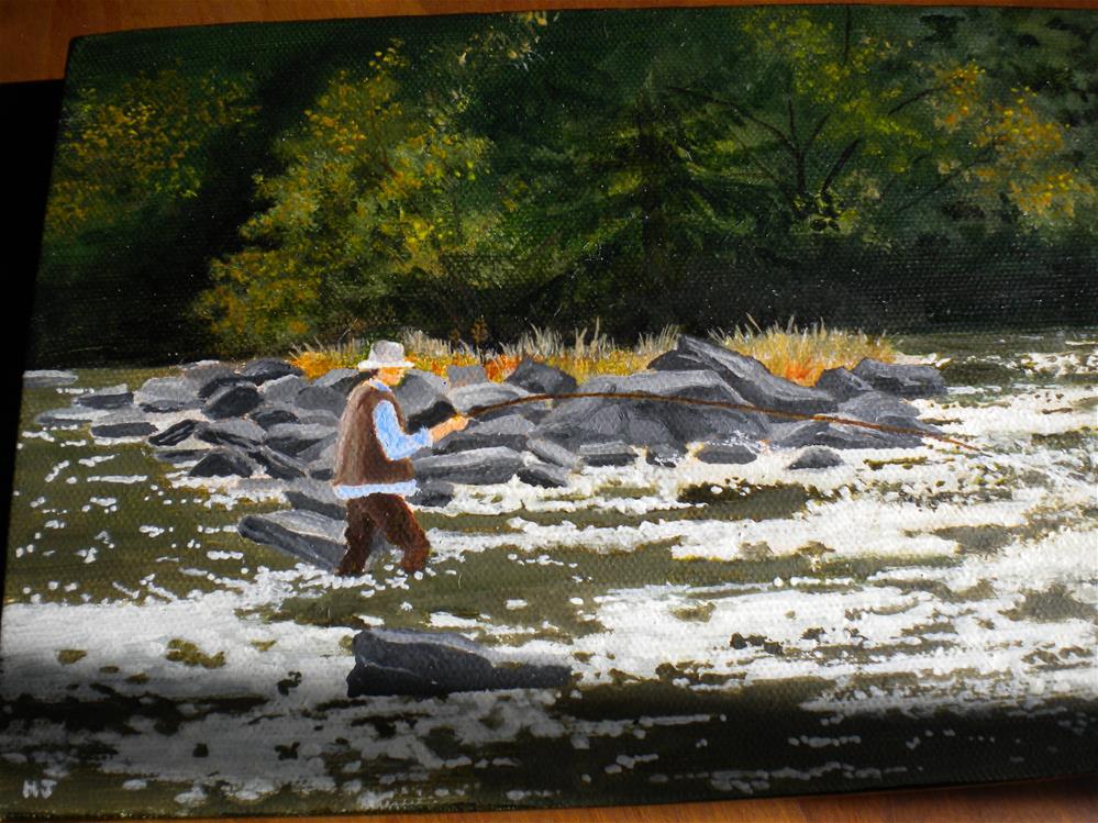 """Saturday"" original fine art by Hilarie Johnson"