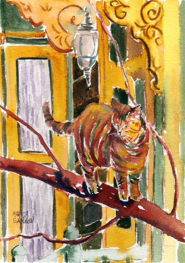 """Out on a Branch"" original fine art by Melissa Gannon"