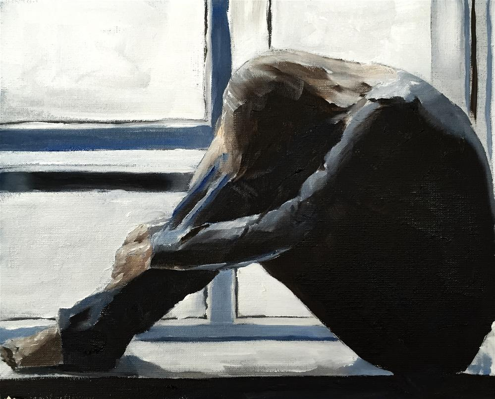 """By the Window"" original fine art by James Coates"