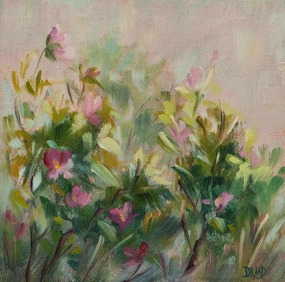"""Diary of a Plein Air Painter #27"" original fine art by Debbie Lamey-Macdonald"