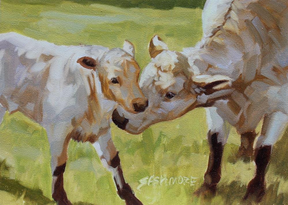 """First Born"" original fine art by Susan Ashmore"