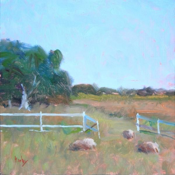 """Woolies"" original fine art by Randall Cogburn"