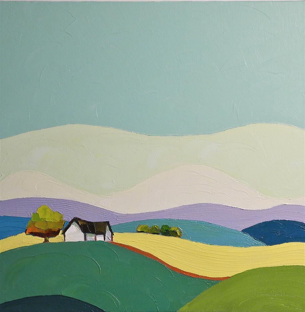 """Our Land"" original fine art by Donna Walker"