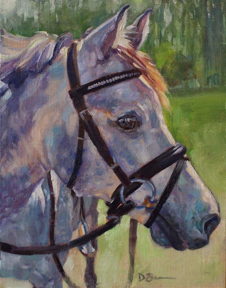 """Lovey"" original fine art by Deborah Savo"