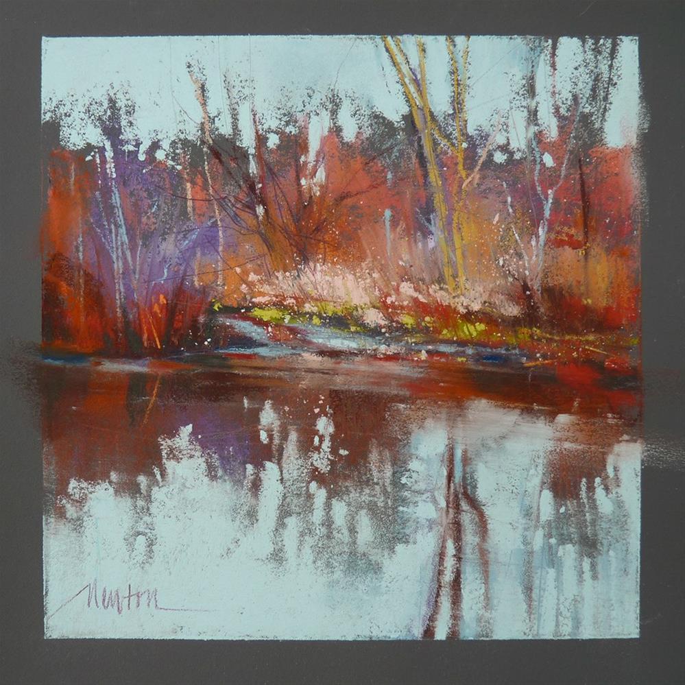 """Arboretum Marsh"" original fine art by Barbara Benedetti Newton"