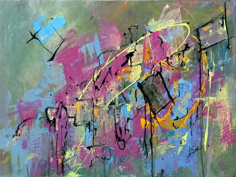 """""""Broken Hearts"""" original fine art by Terri Einer"""