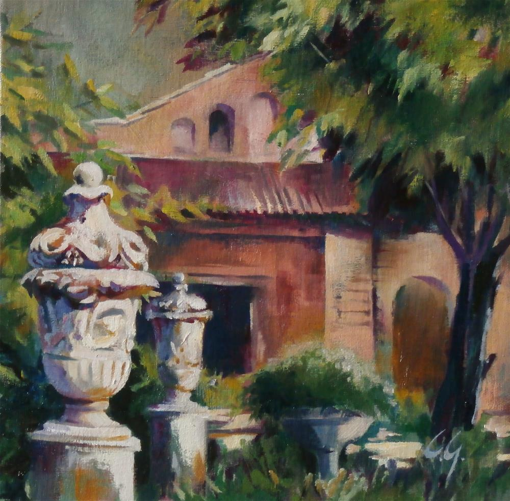 """Torcello, Italy"" original fine art by Carla Gauthier"