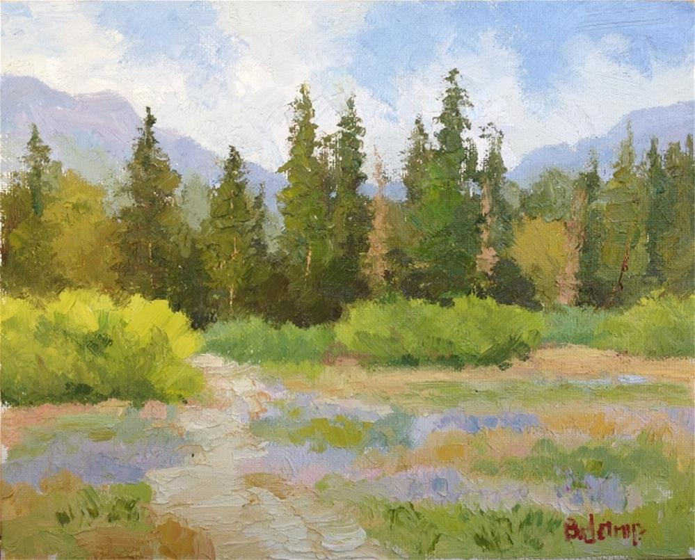 """Blackwood Meadow"" original fine art by Mark Bidstrup"