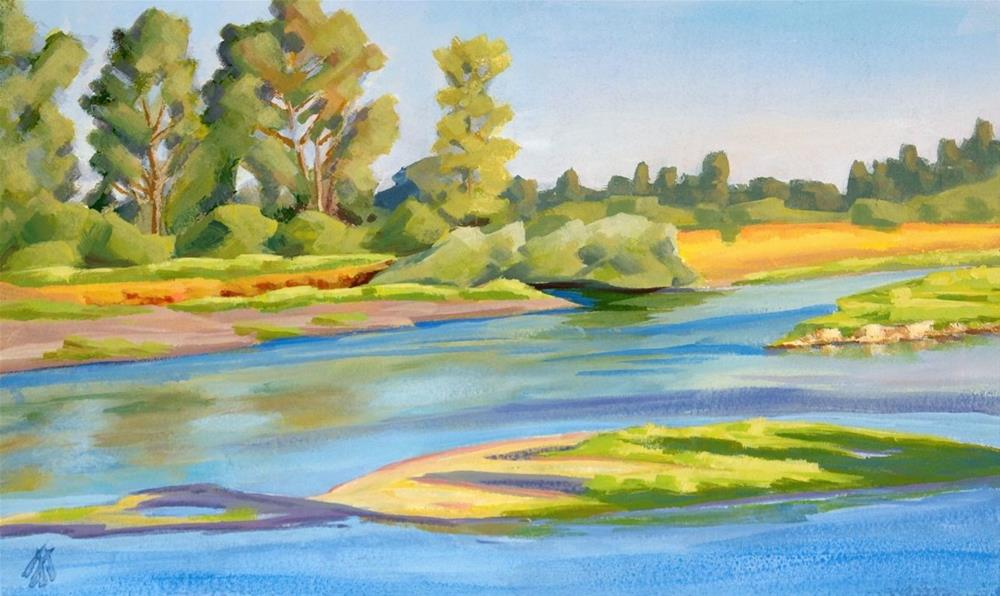 """South Willamette Park"" original fine art by Mark Allison"