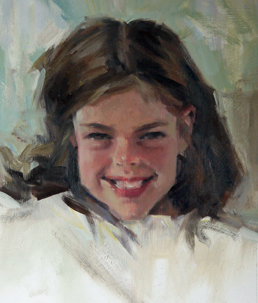 """Jackie"" original fine art by Mike Peterson"