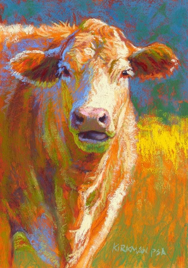 """Milkshake"" original fine art by Rita Kirkman"