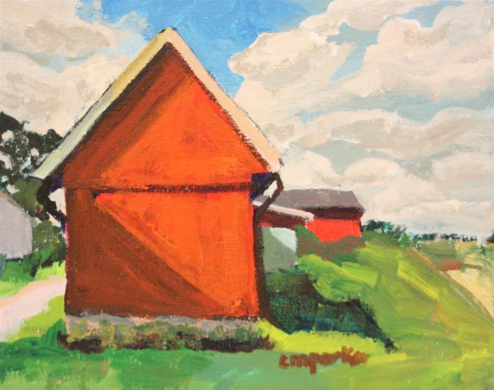 """Rural"" original fine art by Christine Parker"