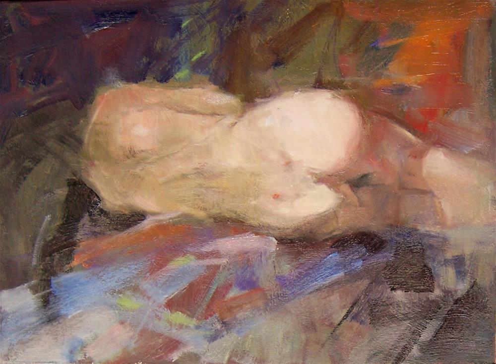 """Sleeping Siren"" original fine art by Kim Roberti"