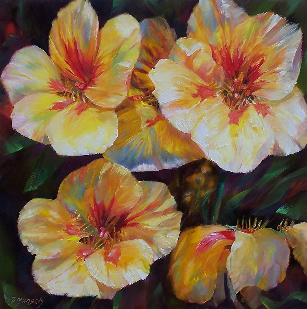 """Bright and Fuzzy"" original fine art by Donna Munsch"
