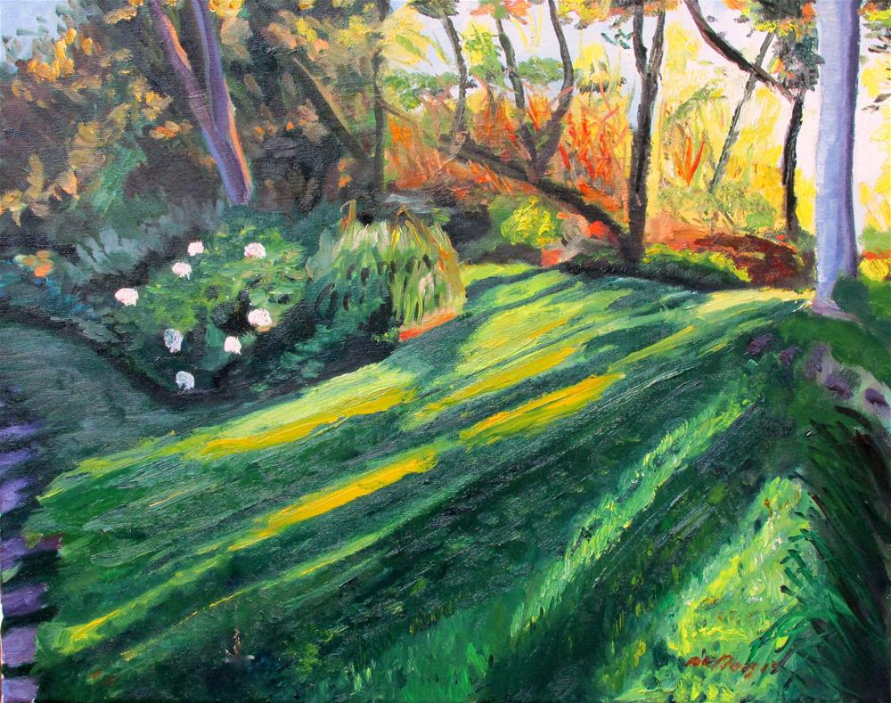"""Garden, Pt. Reyes"" original fine art by Will Dargie"