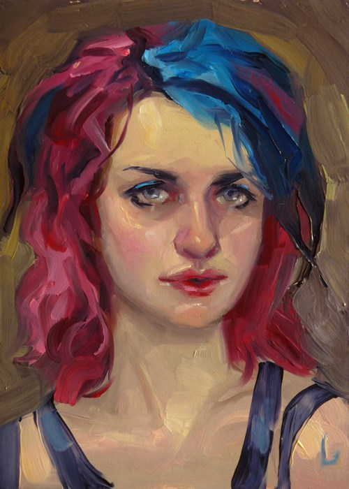 """Berry"" original fine art by John Larriva"