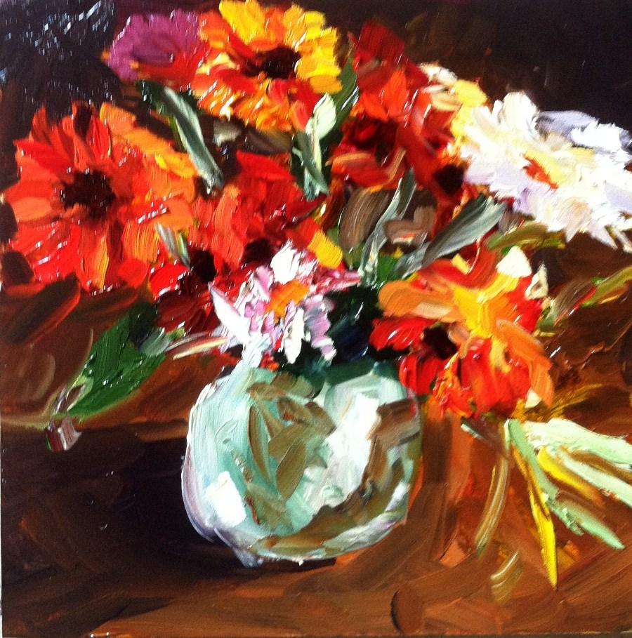 """Fall Harvest"" original fine art by Kristen Dukat"