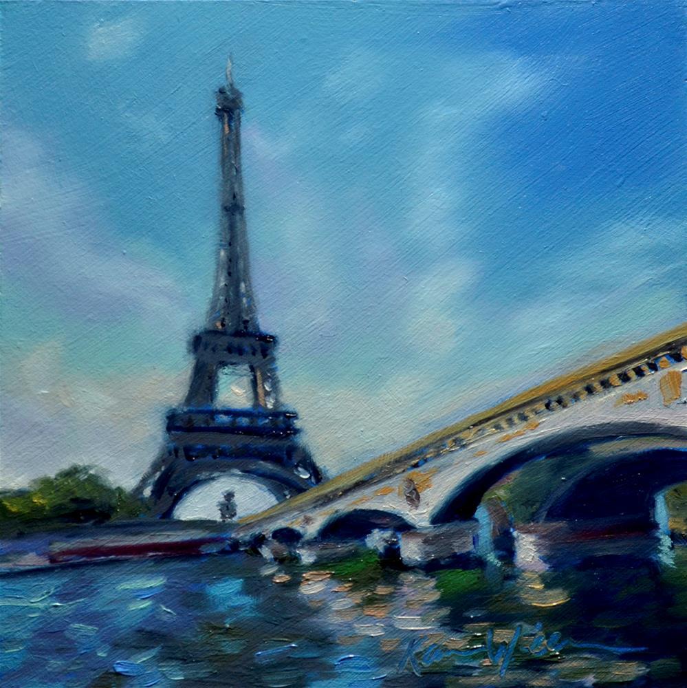 """""""Je Suis Charlie"""" original fine art by Karen Weber"""