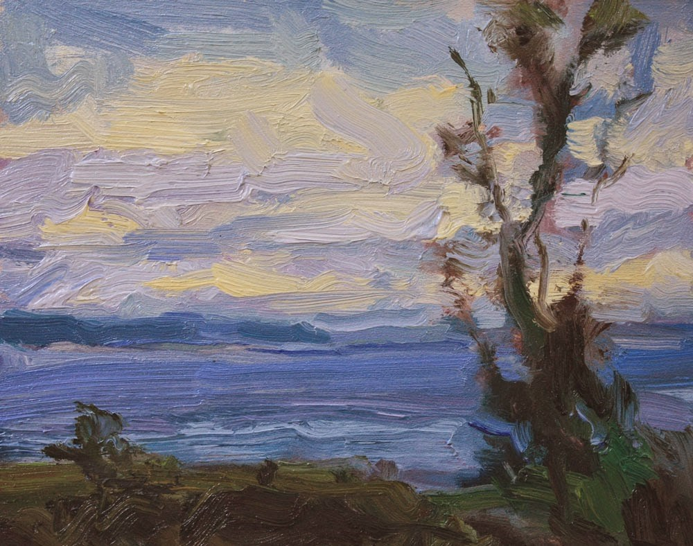 """Across to Whidbey"" original fine art by Kathryn Townsend"