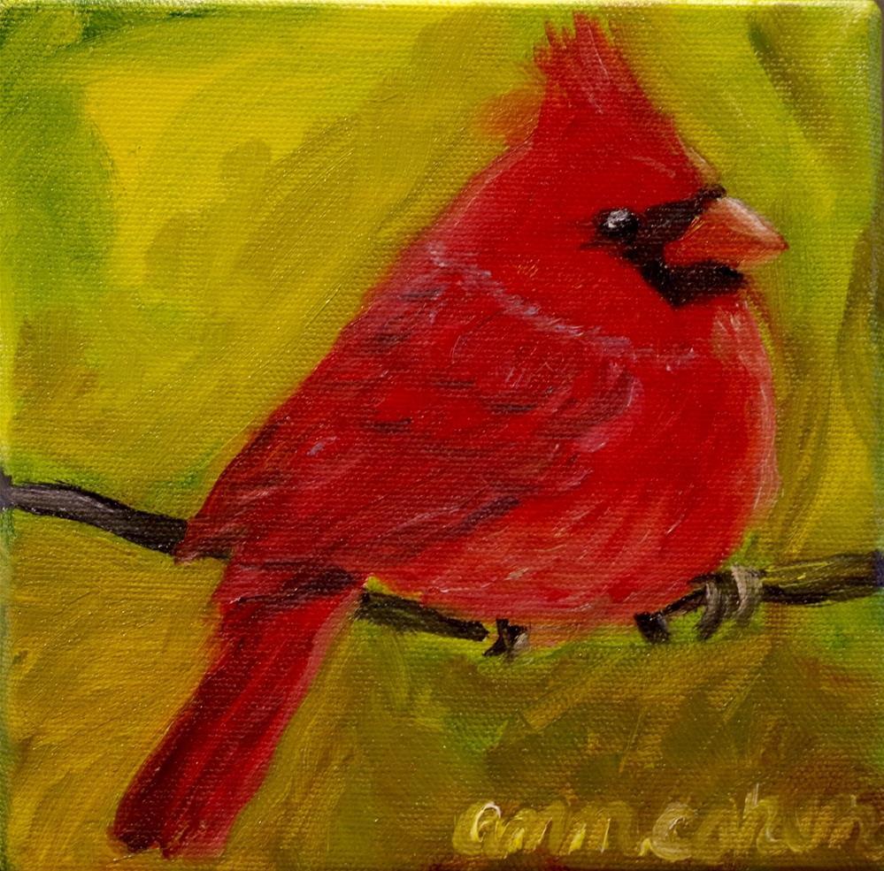 """Backyard Angel"" original fine art by Ann Cohen"