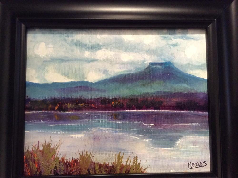 """Pedernal"" original fine art by Kathy Marques"