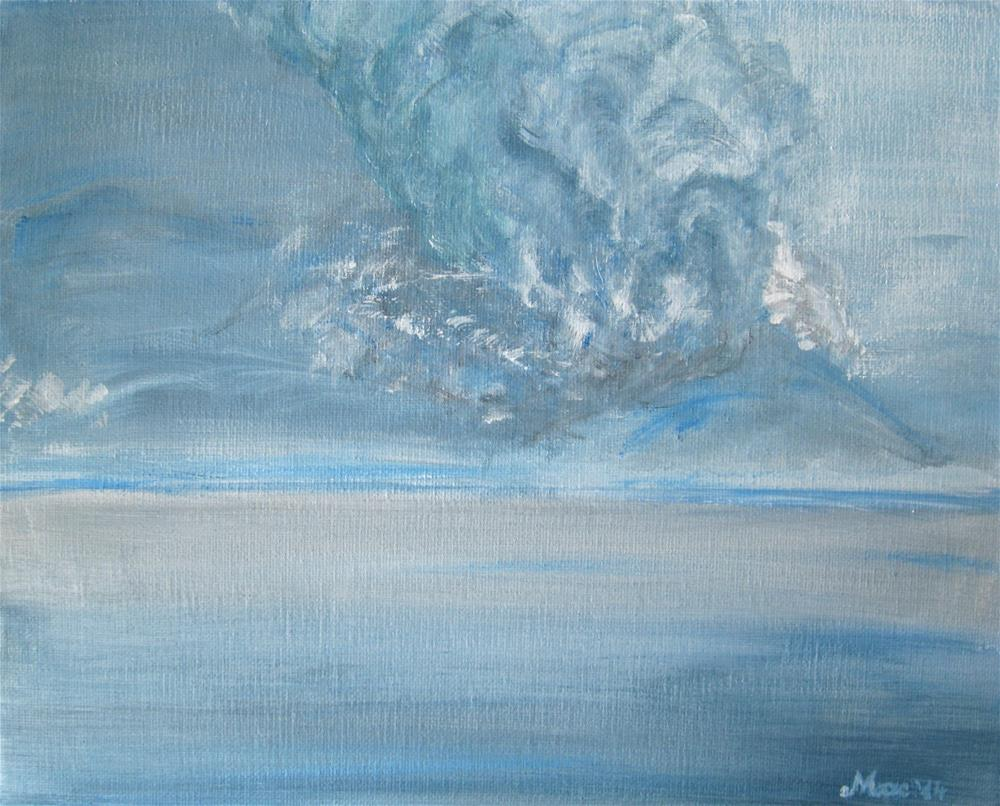 """Ash Cloud"" original fine art by Alina Frent"