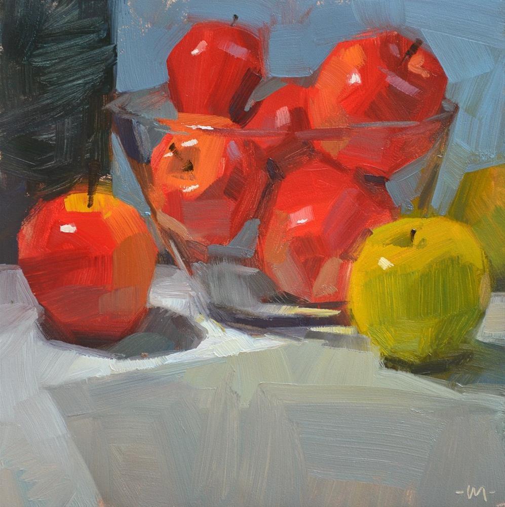"""Situated"" original fine art by Carol Marine"