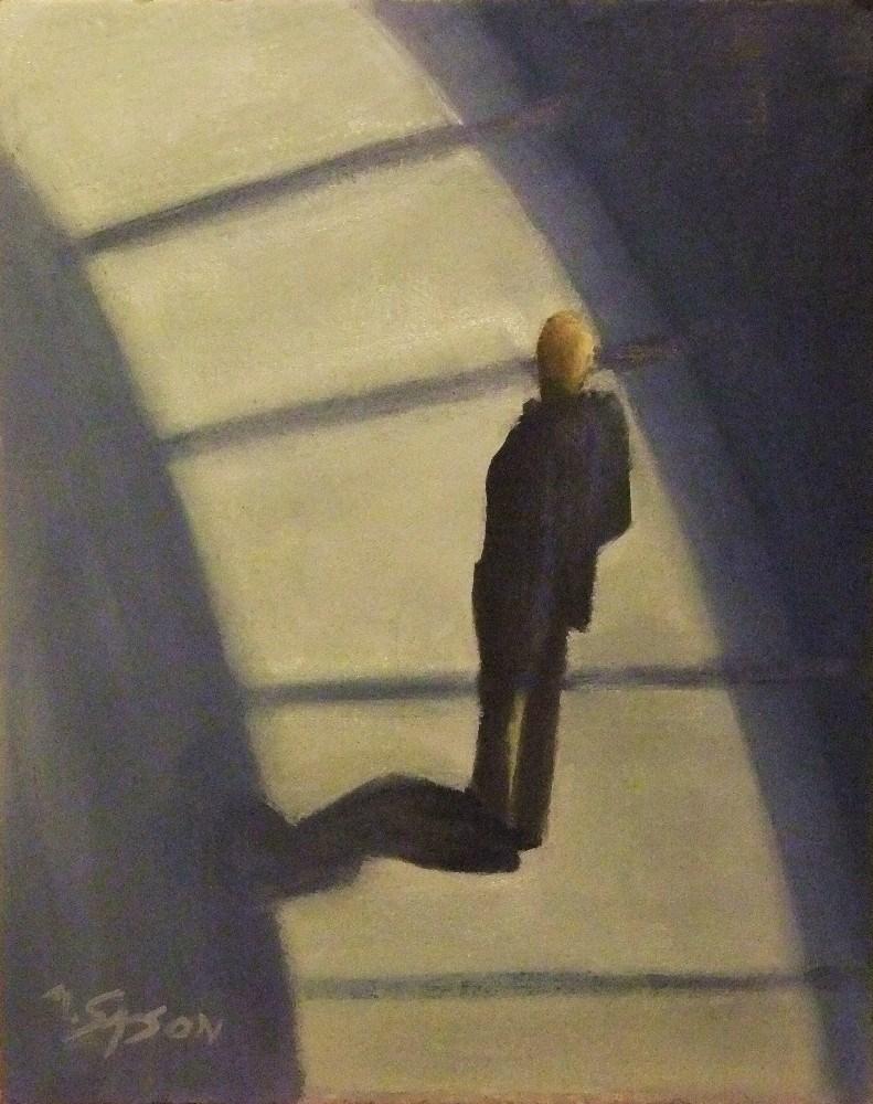 """Where do I go from here - Pinakothek Munich"" original fine art by Michael Sason"