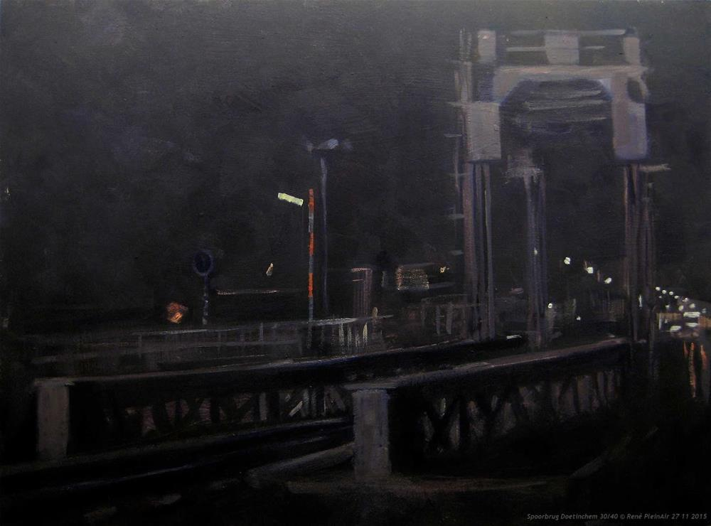 """Black Fryday, ... Doetinchem, The Netherlands"" original fine art by René PleinAir"