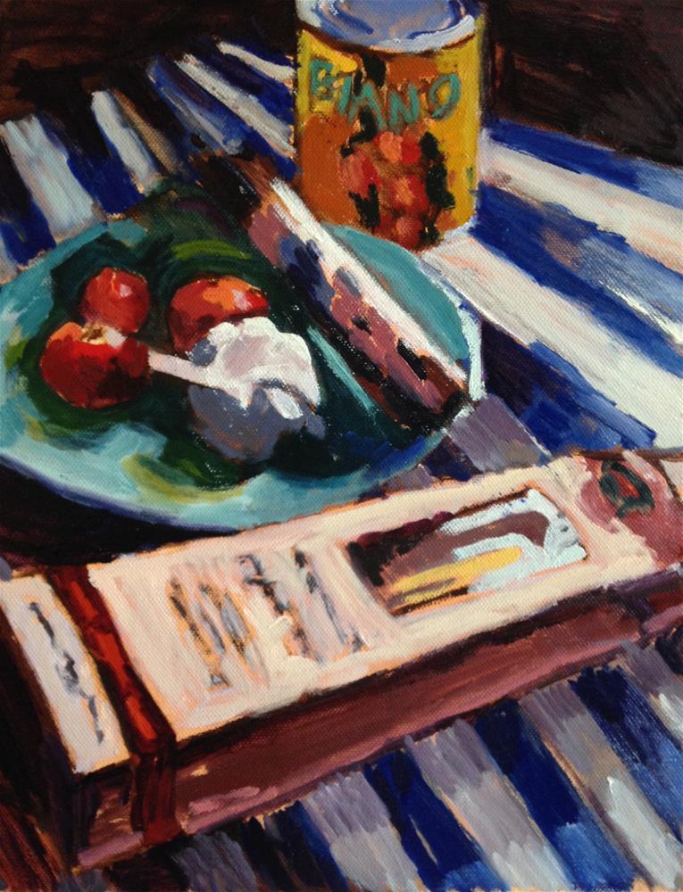 """Bianco Dinapoli"" original fine art by Pamela Hoffmeister"