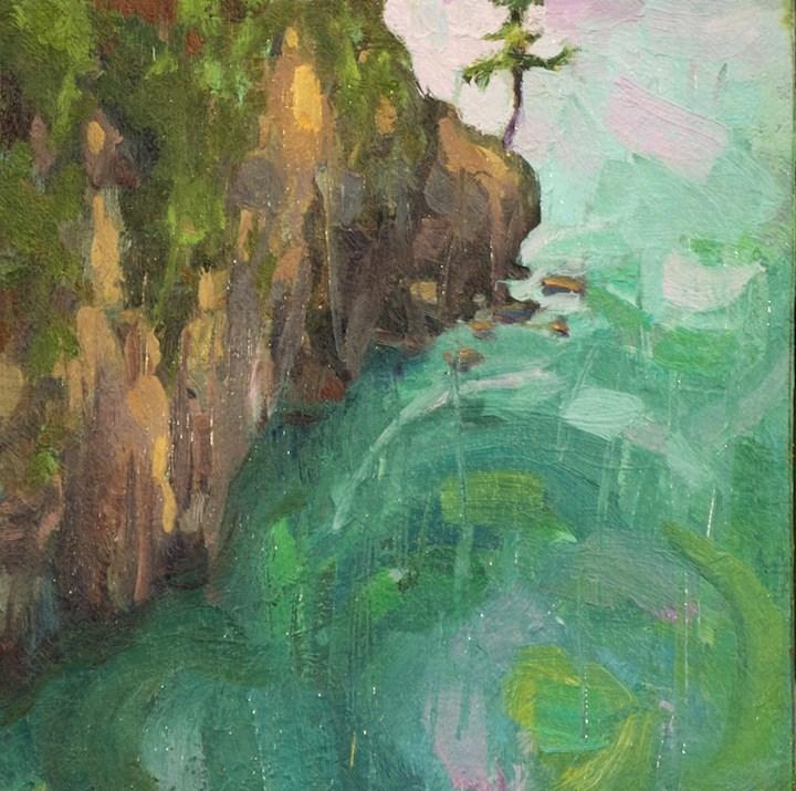 """Deception Pass"" original fine art by Emiliya Lane"