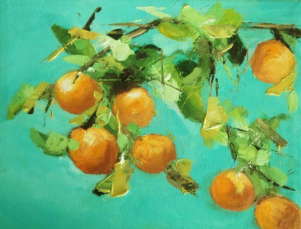 """Yummy vitamins"" original fine art by Astrid Buchhammer"