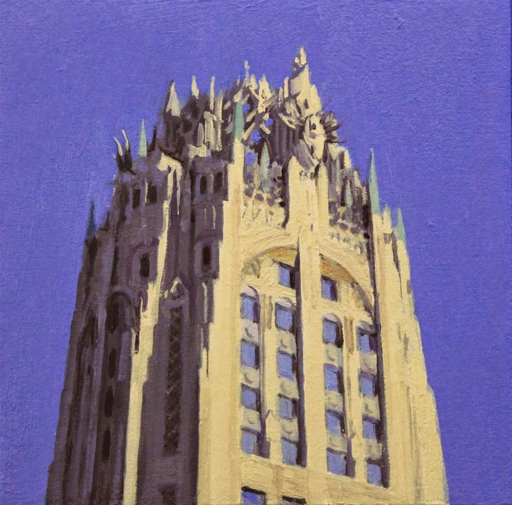 """RCA Victor Building"" original fine art by Ski Holm"