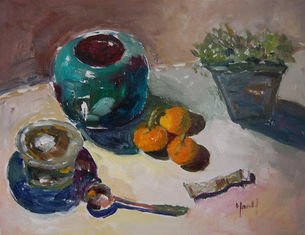 """""""Still Life 5"""" original fine art by Deborah Harold"""