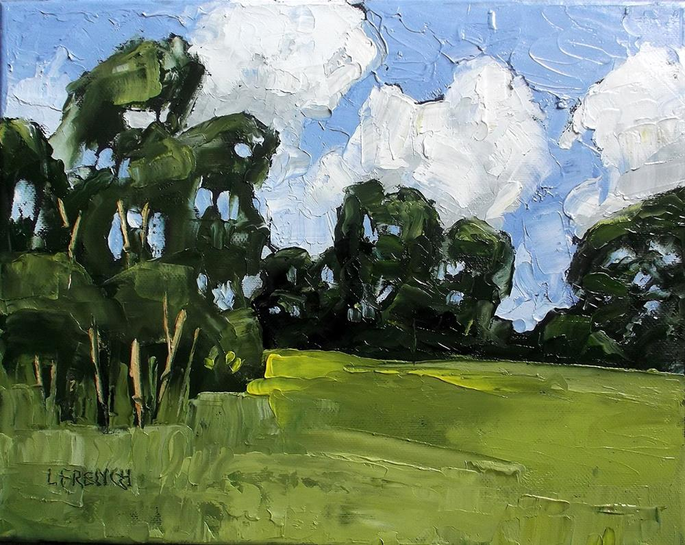 """California Santa Maria Meadow"" original fine art by lynne french"