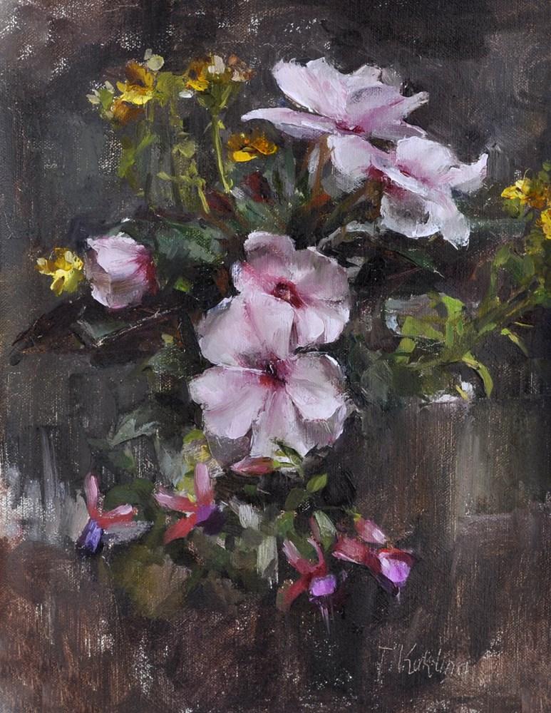 """spring still life"" original fine art by Taisia Kuklina"